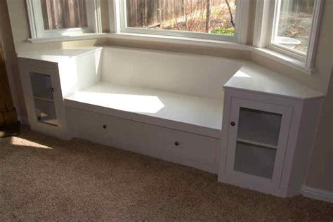 bay window bench plans bay window bench with book shelves for the home pinterest