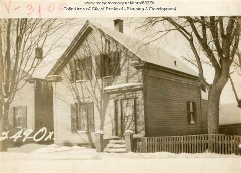 Oxford Houses Portland Oregon by Maine Memory Network 249 251 Oxford Portland 1924