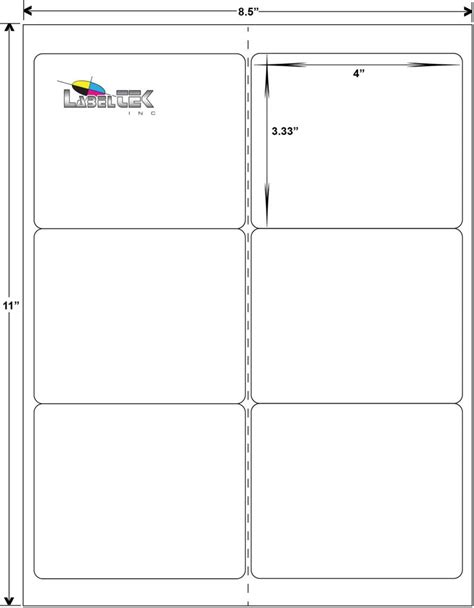 avery labels 8 per page template