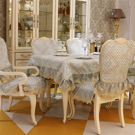 Dining Table Chair Cushions Top Grade Fashion Dining Table Cloth Chair Covers Cushion Tables And Chairs Bundle Chair Cover