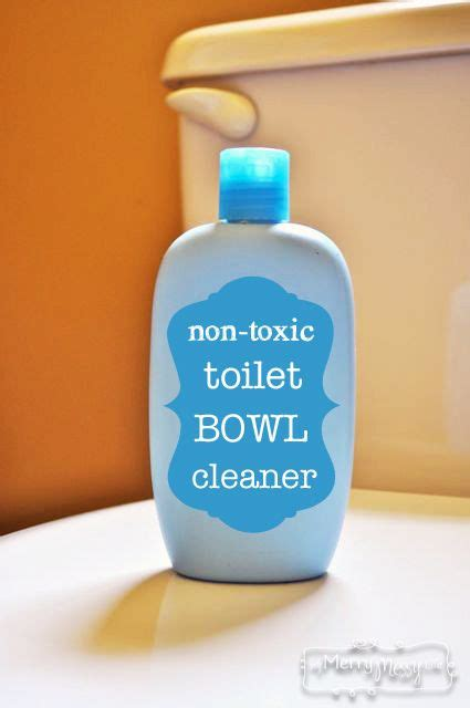 non toxic bathroom cleaner toilet bowl toilets and bowls on pinterest