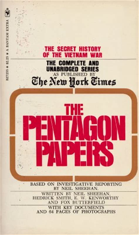 the pentagon papers the secret history of the war books daniel ellsberg quotes quotehd