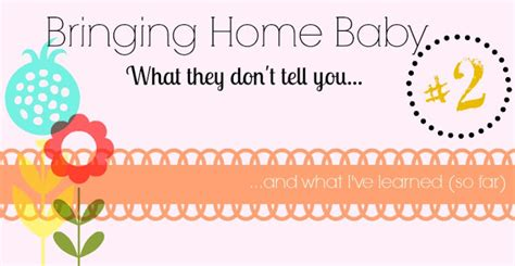 bringing home baby 2 what they don t tell you and what i