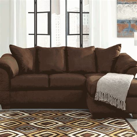 cafe sofa darcy caf 233 sofa chaise lexington overstock warehouse