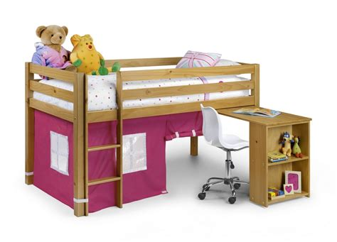 Midi Sleeper Bunk Beds by Wendy Midi Sleeper Antique Pine With Pink Or Blue