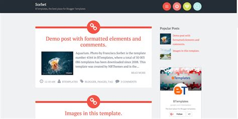 blogs template top 30 best free responsive templates 2017 colorlib