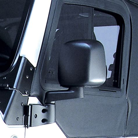 Side Mirrors For Jeep Wrangler With Doors 87 06 Jeep Wrangler Rugged Ridge Replacement Left Side