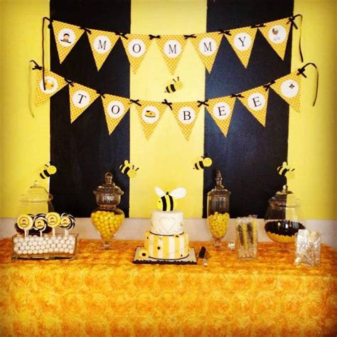 bee themed baby shower decorations kara s ideas bee themed baby shower planning