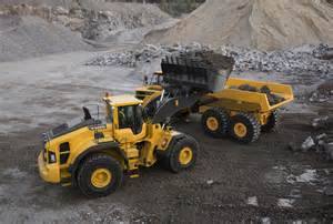 Volvo Wheel Loaders Volvo L250h Wheel Loader Offers Load Cycles