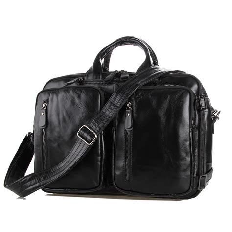 bag import j m d leather bag import layer cowhide business bag