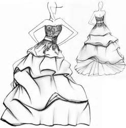 How To Drawing Ideas Design Ideas For Dresses Drawing Easy Steps For Beginner