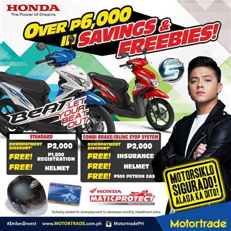 Motor Trade Honda Beat Price by Motortrade Mga Ka Motorista Bili Na Ng Honda Beat Fi