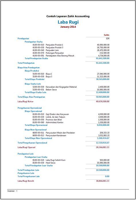 contoh membuat laporan keuangan bulanan cara membuat laporan keuangan sederhana