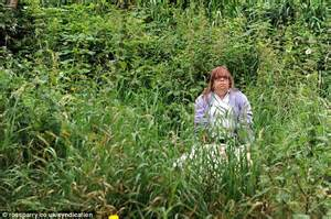 how to cut weeds in backyard fury of 3ft 9in dwarf woman as council refuses to cut the garden weeds that are taller