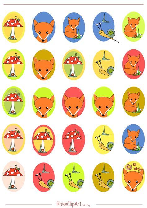 printable stickers sheets free printable fox planner stickers oval ausdruckbare