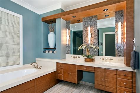 bathroom with blue walls bathed in color when to use blue in the bathroom philly