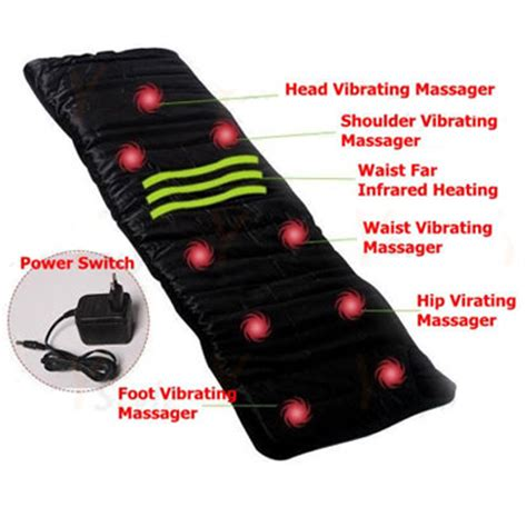 vibrating massage mattress dc12v massage cushion sofa bed