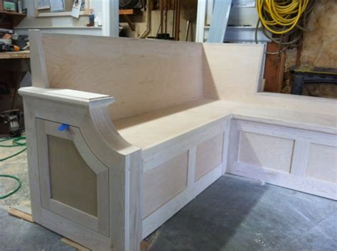 how to make a bench seat for kitchen table kitchen bench seat finish carpentry contractor talk
