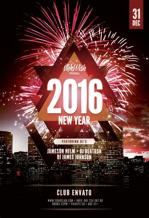 buy flyer templates 25 best images about new year flyer templates on