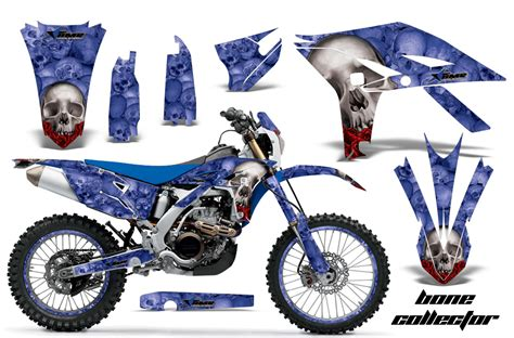 Yamaha Sticker Kits by Yamaha Motocross Graphic Sticker Kit 2012 2015 Yamaha Mx
