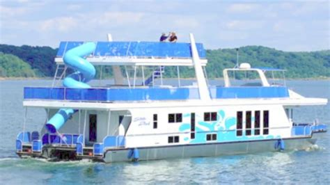 lake cumberland house rentals with boat dock tour of a houseboat on lake cumberland state dock 1000