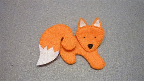 Fox Bahan Craft Diy how to make sweet fox from felt diy crafts tutorial guidecentral