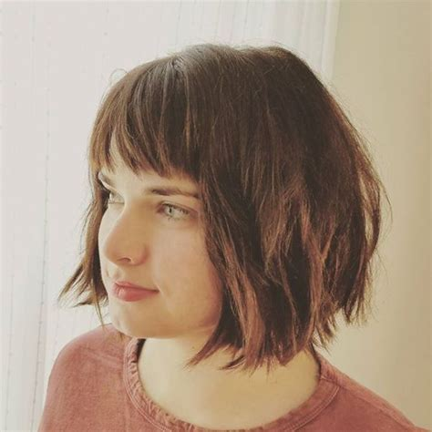 Hairstyles 2017 Bob With Fringe by The Cool Haircut That Ll Be Everywhere In 2017 Bob