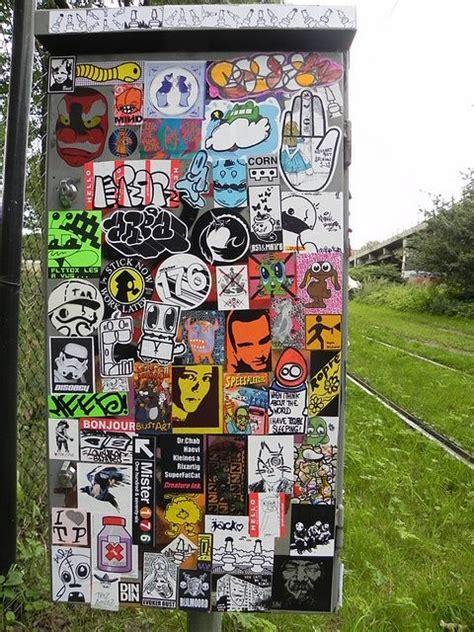 stickercombo   street art graffiti graffiti wall