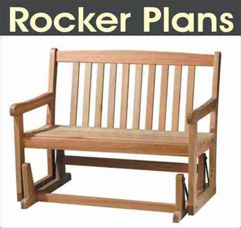 glider rocking chair plans   build diy woodworking