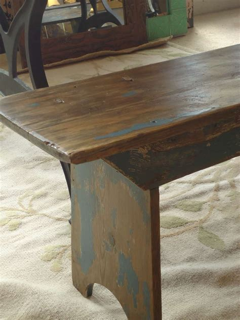 primitive bench 28 images primitive very long primitive bench with original paint at 1stdibs