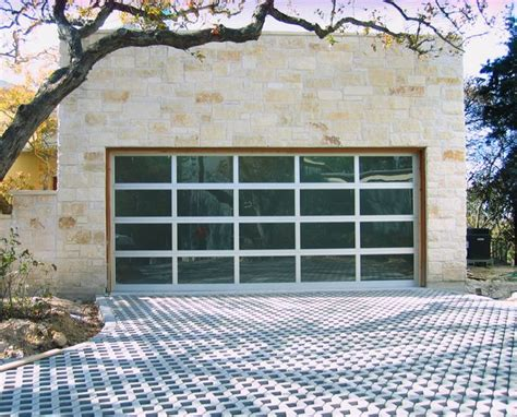 Modern Glass Garage Doors by 18 0 Quot X 8 0 Quot Garage Door With Frosted Glass