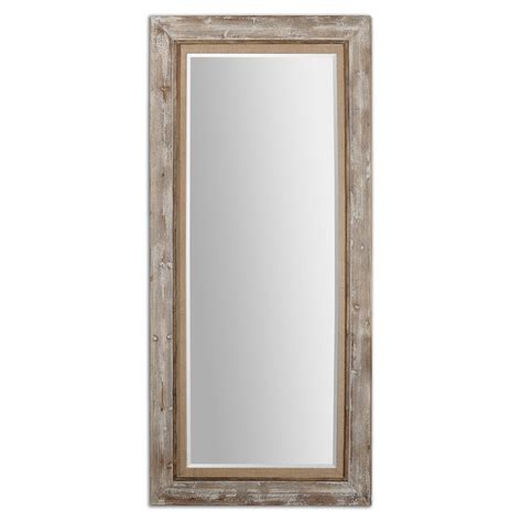 Floor Mirror by Uttermost 13850 Fardella Wood Floor Mirror 653 40