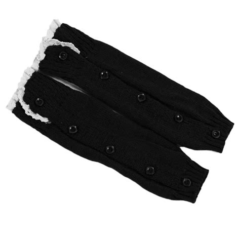 boot warmers warm trendy knitted button lace leg warmers