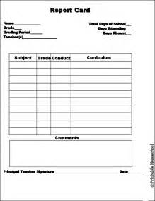 Report Card Template Ontario ontario report card template the dragon academy report