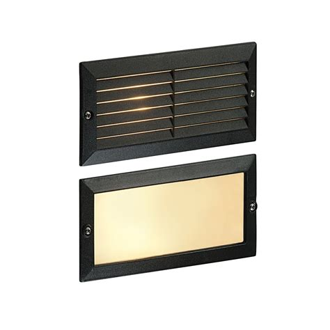 saxby outdoor lighting ol60ab eco outdoor bricklight recessed light