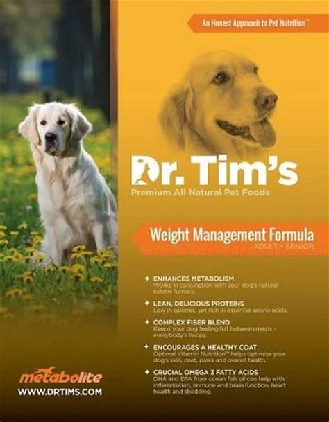 dr tim s food dr tim s metabolite weight management formula