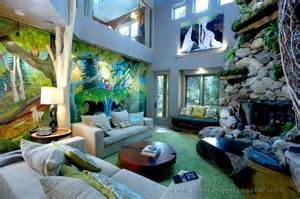 Wall Projectors For Murals bringing the outdoors indoors how to add a touch of