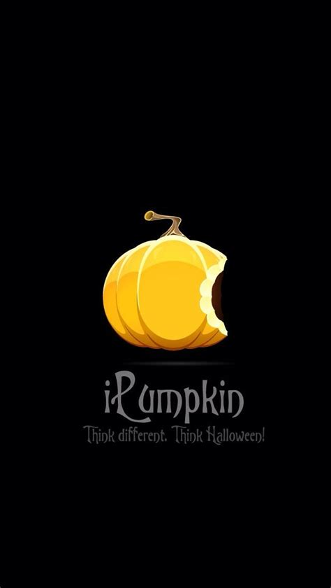 halloween themes for iphone 5 i pumpkin think different apple halloween wallpaper from