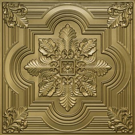 brass ceiling tiles large snowflake faux tin ceiling tile 24 quot x24 quot 206