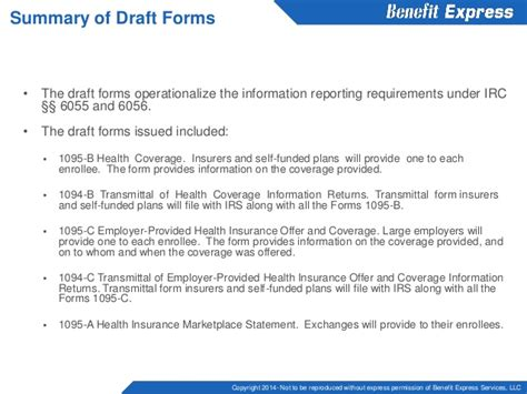 irs section 6056 reporting under code section 6055 and 6056