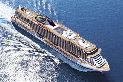 cabine navi da crociera seaside la nave da crociera di lusso in cantiere per msc