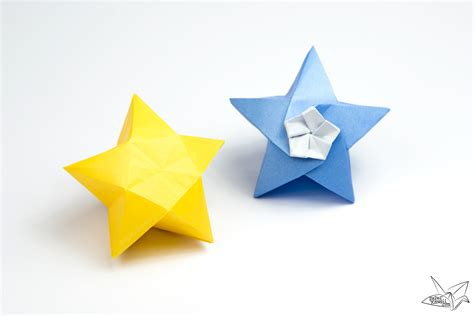 What Is Origami Paper Made Of - origami twinkle tutorial paper kawaii