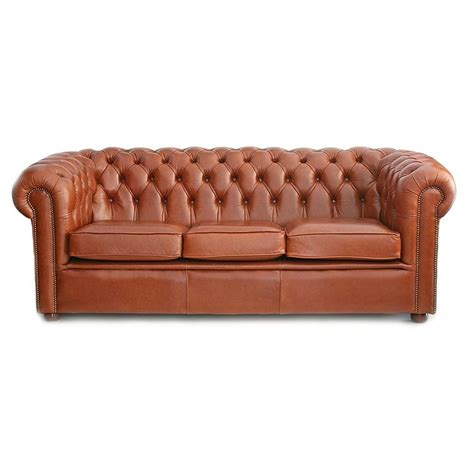 traditional leather chesterfield sofa house of