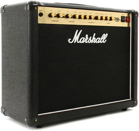 Speaker Marshall marshall dsl40c 40 20w 1x12 quot guitar combo