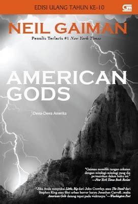 Dewa Dewa Amerika American Gods Ori Neil Gaiman libri di ra