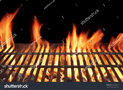 Background Grill Barbecue Grill Closeup Isolated On Stock Photo