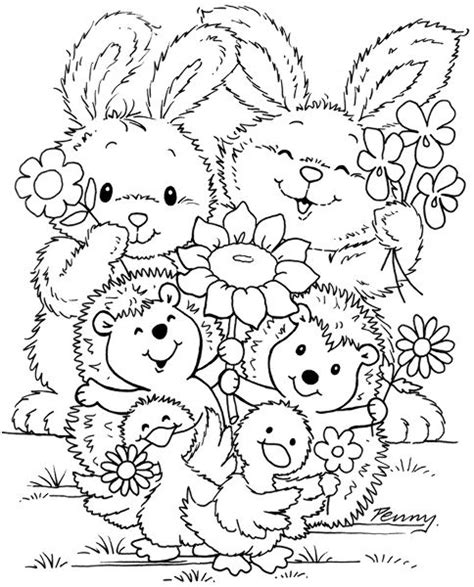 cuties 50 coloriages 25 best ideas about cute coloring pages on cat colors colouring in and