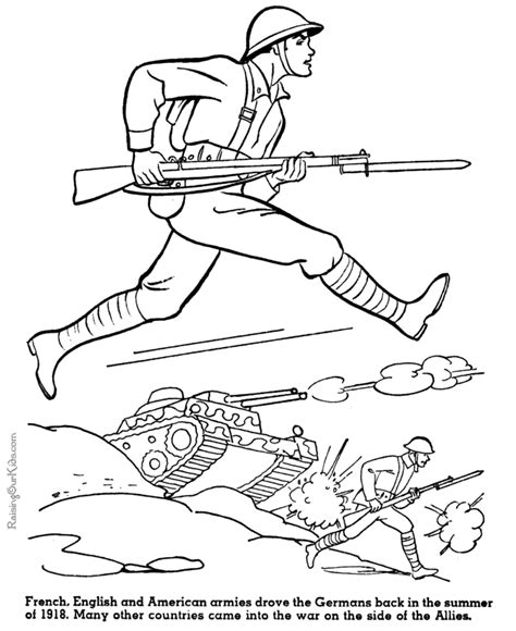 coloring pages for us history army printable coloring sheet american history