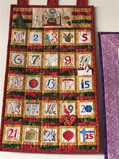 Calendar Machine Advent Calendar Machine Embroidery