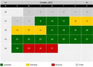 availability booking calendar by stivasoft for calendar